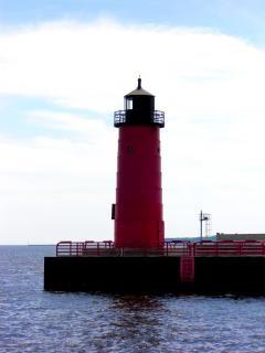 Milwaukee harborfront, waarschuwing