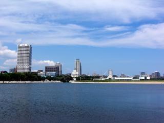 Milwaukee harborfront, wisconsin, wolkenkrabber