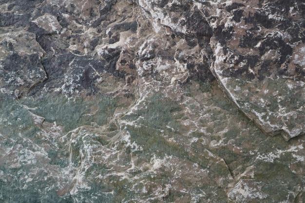Mineraal en hard zwaar graniet stenen oppervlak van de grot voor interieur behang