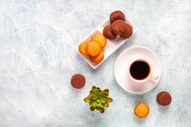 Mini-chocoladekoekjes.