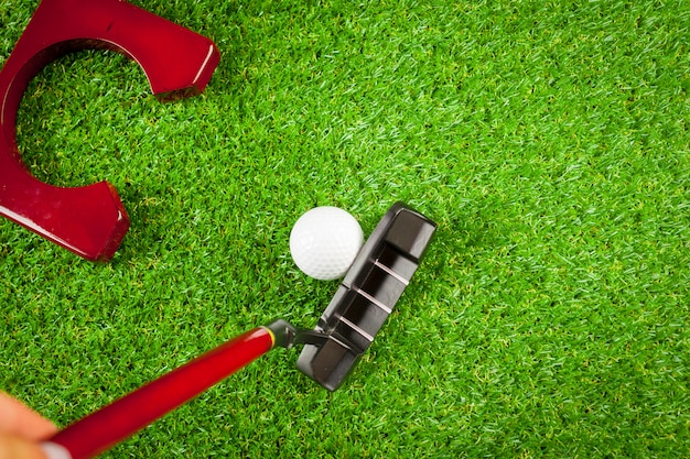 Mini golfuitrusting