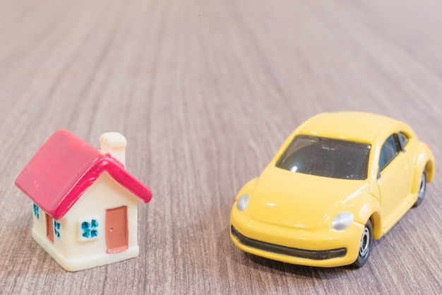 Miniaturen uit huis en auto