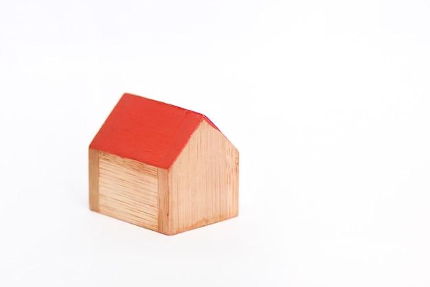 Miniatuur houten huis