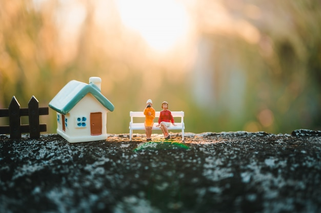 Miniatuur mensen