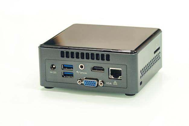 Miniatuurcomputer met één bord.