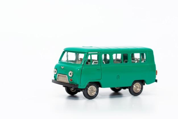 Miniatuurkopie van de minivan-auto