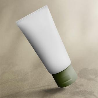 Minimale huidverzorging tube schoonheidsproduct verpakking