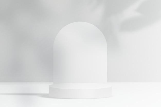Minimale productachtergrond met ontwerpruimte