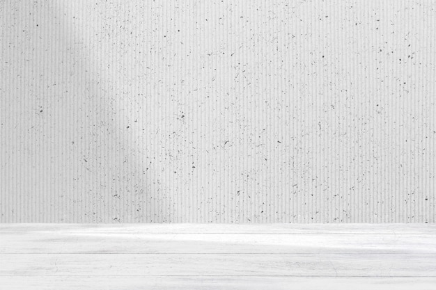 Minimale productachtergrond met witte muur