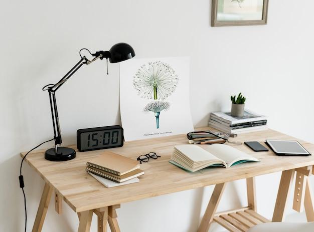 Minimale stijl van werkruimte