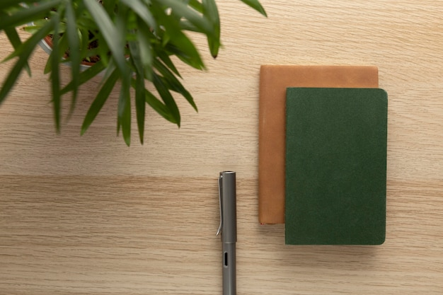 Minimalistisch ontwerp van de thuiswerkruimte