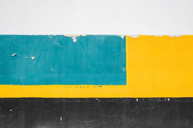 Minimalistische kleurrijke betonnen muur, abstracte oude en vintage achtergrond.