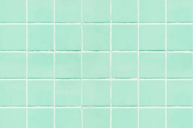 Mint groene tegels getextureerde achtergrond