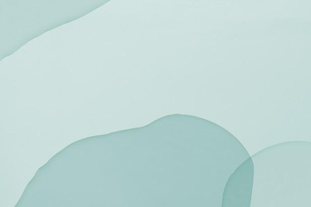 Mintblauwe aquarel textuur achtergrondbehang