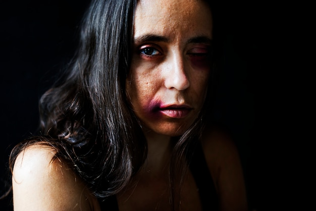 Misbruikte vrouw