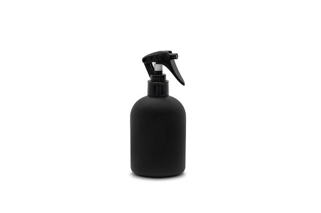 Mistige spray in donkerzwarte kleur, het zag er luxe en klassiek uit in een zwarte verpakking