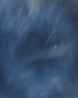 Mistige sterrenhemel achtergrond