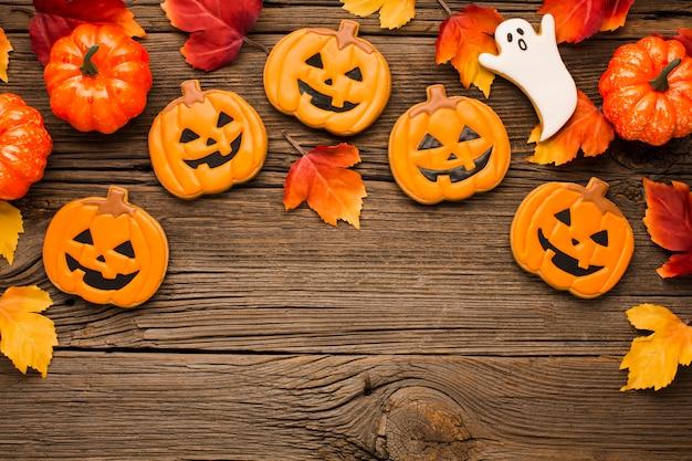Mix van halloween-feeststickers