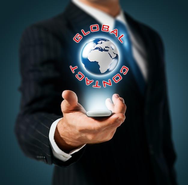 Mobiel wereldwijd sociaal netwerk