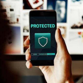 Mobiele beveiligingsapp
