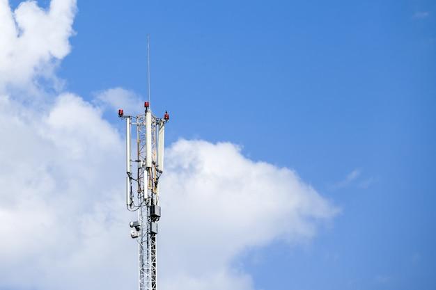 Mobiele telefoon netwerk telecommunicatie toren