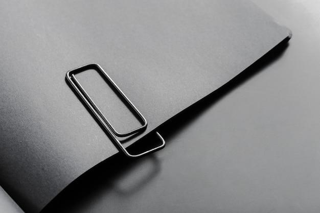 Mockup van blanco boek