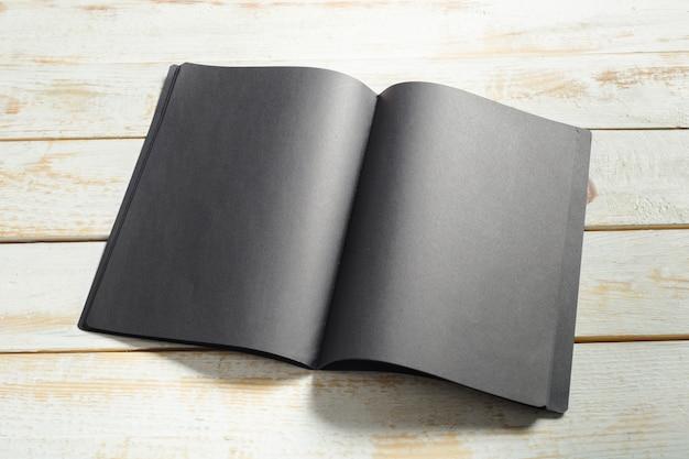 Mockup van notitieboek
