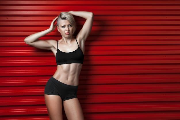 Mode fitness vrouw