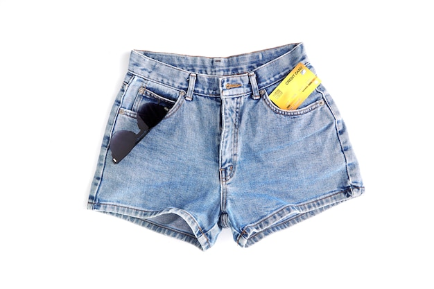 Mode korte jean broek voor dames