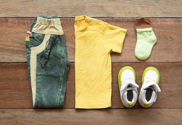 Mode man kleding set