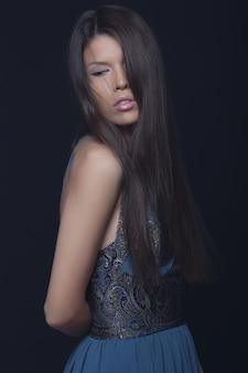 Mode portret van elegante vrouw