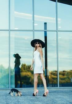 Mode stijl elegante vrouw