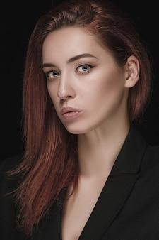 Mode vrouw portret. mooi model.