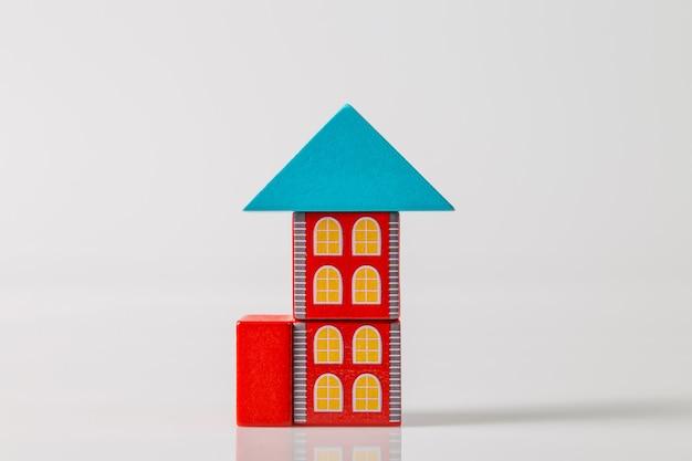 Model van het houten huis