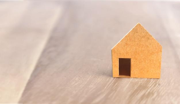 Model van vrijstaand huis, huisidee