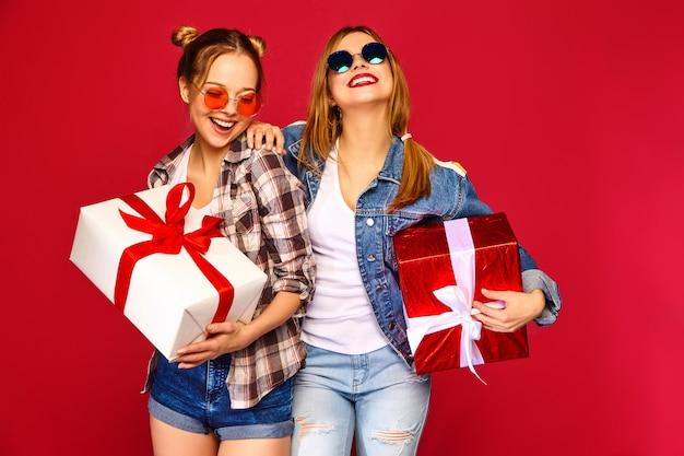 Modellen met grote geschenkdozen