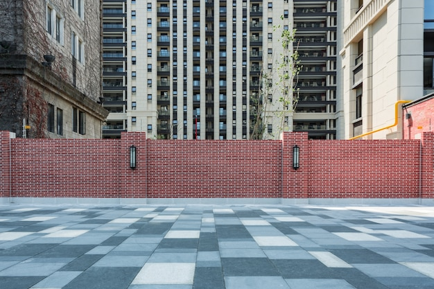Modern appartement blokken bekisting bouw