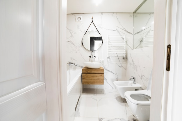 Modern badkamer interieur