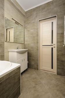 Modern badkamersbinnenland