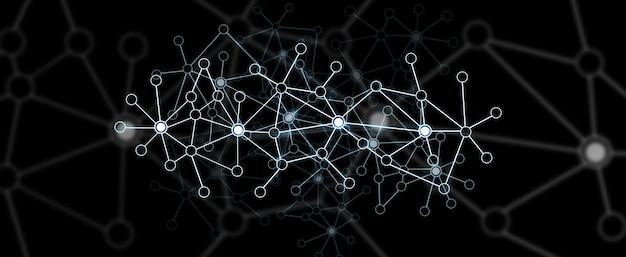 Modern digitaal gegevensnetwerk