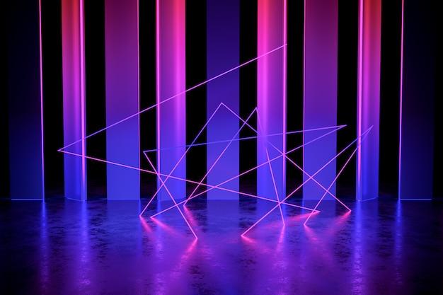 Modern futuristisch neonlicht