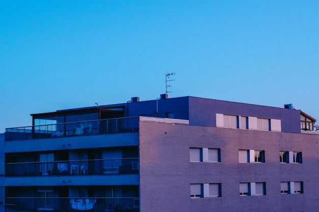 Modern gebouw architectuur