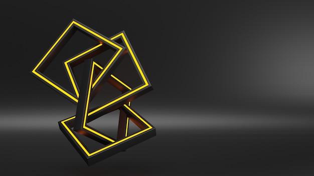 Modern geometrisch