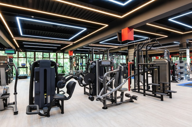 Modern gym interieur