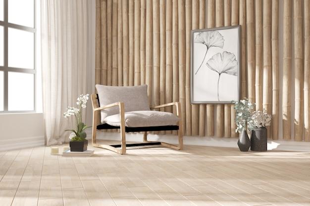 Modern interieur. 3d illustratie