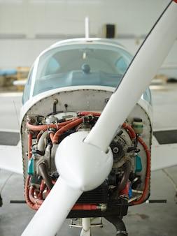 Modern jet-vliegtuig
