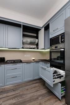 Modern keukenbinnenland