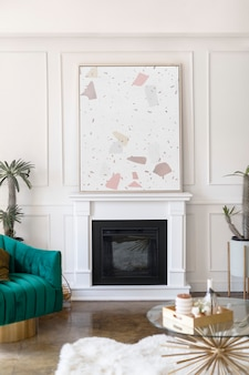 Modern licht interieur huisontwerp