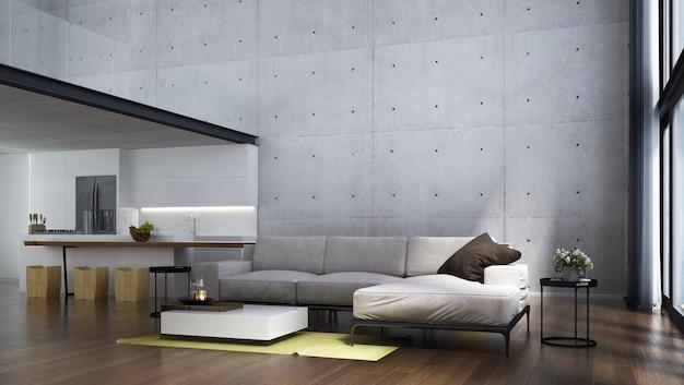 Modern woonkamer interieur