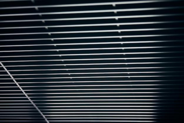 Modern zwart metalen roosterplafond